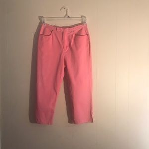 These capris are size 6..